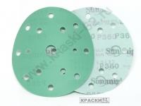 Круг шлифовальный липучка SUNMIGHT  360 Ø 150 мм