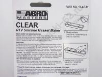 Прозрачный герметик силиконовый для прокладок ABRO