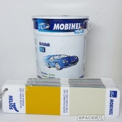 295 Сливочно Белая MOBIHEL АЛКИДНАЯ ЭМАЛЬ