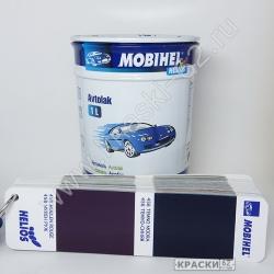 456 Темно - Синяя MOBIHEL АЛКИДНАЯ ЭМАЛЬ