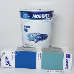481 Голубая MOBIHEL АЛКИДНАЯ ЭМАЛЬ