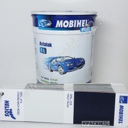 Opel 259 halit blau MOBIHEL АЛКИДНАЯ ЭМАЛЬ