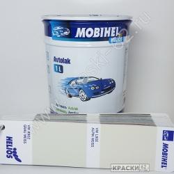 VW R902 GRAU WEISS MOBIHEL АЛКИДНАЯ ЭМАЛЬ
