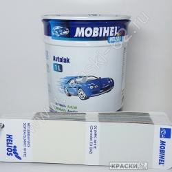 Mitsubishi W09 sophia/summit white MOBIHEL АЛКИДНАЯ ЭМАЛЬ